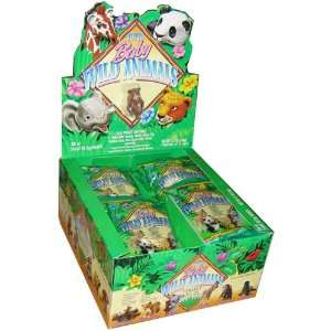 Topps / Collect Ems Baby Wild Animals Box   24 packs of