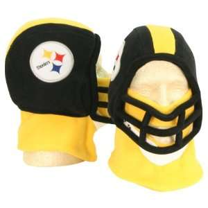 Pittsburgh Steelers Football Helmet Winter Knit Hat (With Removable