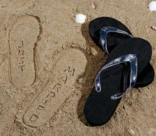 Mens Just Married Flip Flops Shoes