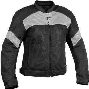 River Road Womens Sedona Mesh Jacket   Small/Black/Grey