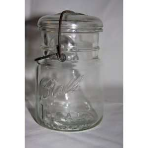 Collectible Ball Ideal July 14, 1908 Glass Jar