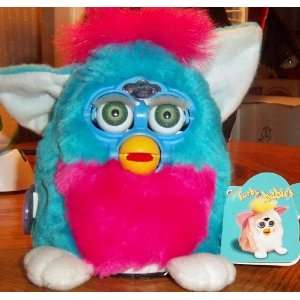 Baby Furby Hot Blue and Pink By Tiger : Toys & Games :