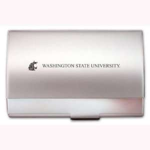 Washington State Cougars Two Tone Business Card Holder