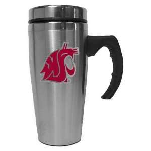 Washington State Cougars NCAA Stainless Steel Contemporary Travel Mug