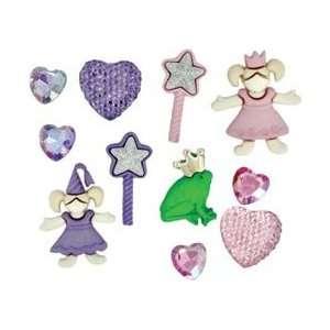 Jesse James Dress It Up Embellishments Little Princess; 6 Items/Order