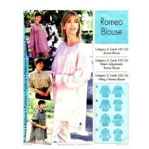Step by Step Sewing Pattern Romeo Blouse Size 4   22: Arts