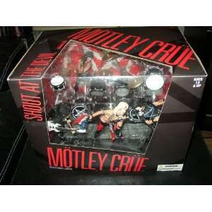 Toys Motley Crue Shout At The Devil Deluxe Box Set Toys & Games