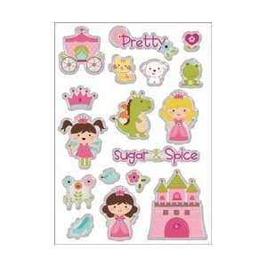 Imaginisce Enchanted Glass Stickers Dreams Come True; 3
