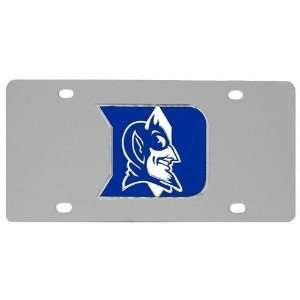 Duke Blue Devils NCAA License/Logo Plate Sports