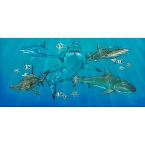 Kings Of The Sea Wall Mural