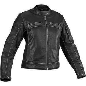River Road Womens Rambler Leather Jacket   2X Large/Black