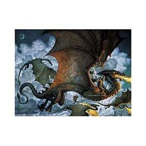 MYSTICAL REALMS, DRAGON OF THE SEA 1000 PIECE JIGSAW PUZZLE, ARTIST