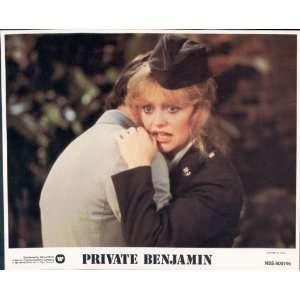 PRIVATE BENJAMIN GOLDIE HAWN EILEEN BRENNAN LOBBY CARD