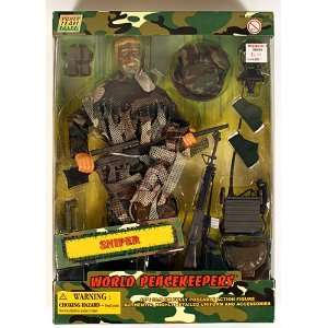 Power Team Elite World Peacekeepers Sniper 12 Figure