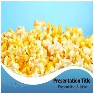 Popcorn PowerPoint Template   PowerPoint Templates on Popcorn