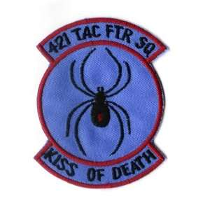421st Tactical Fighting Squad 3.8 Patch Office Products