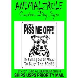 PITBULL DOG SIGN: Everything Else