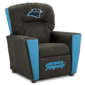 Carolina Panthers NFL Team Logo Kids Recliner  Sports
