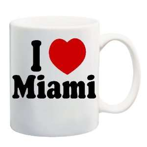 I LOVE MIAMI Mug Coffee Cup 11 oz