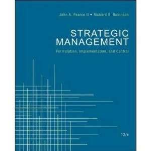 Strategic Management   Formulation, Implementation, and