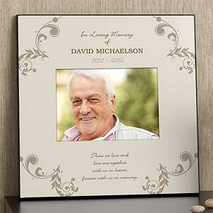 Personalized 5x7 Memorial Picture Frame   In Loving Memory   10779