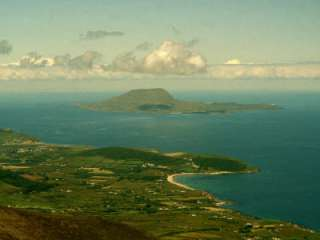 View of Clare Island from the Top of Croagh Patrick Photographic