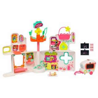 Littlest Pet Shop Rescue Tails Center Playset: Toys & Games
