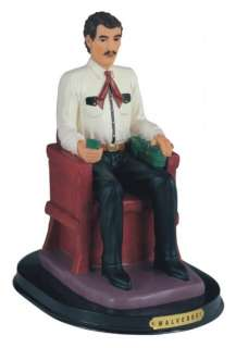 12 Inch Malverde Sitting Religious Figurine Decor