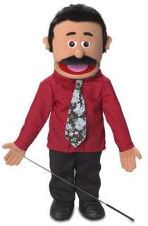25 PRO PUPPETS / FULL BODY DAD PUPPET , CARLOS