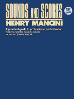 ALFRED PUBLISHING Mancini henry   sounds and scores + cd   pvg