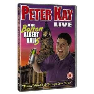 Bolton Albert Halls DVD 2003: .co.uk: Peter Kay, Sally Lindsay