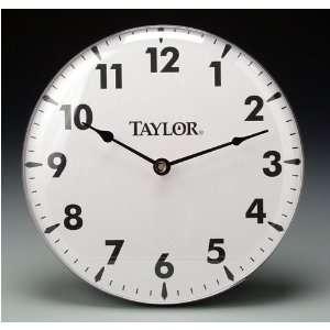 Taylor 18 Metal Patio Deck Porch Outdoor Dial Clock