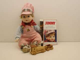 Danbury Mint JIMMY Porcelain Collectible Boy Doll