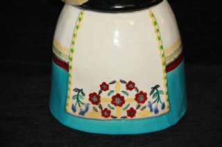 MINT Brayton Laguna California Pottery Cookie Jar  Dutch Woman