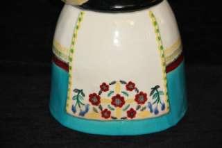 MINT Brayton Laguna California Pottery Cookie Jar  Dutch Woman