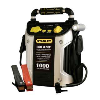 Accessories Jump Starters Stanley 500 Amp Jump Starter with Compressor