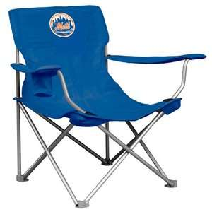 Logo Chairs MLB Canvas Chair   New York Mets Sports Fan Shop
