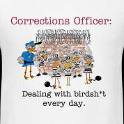Corrections Officer t shirt Design