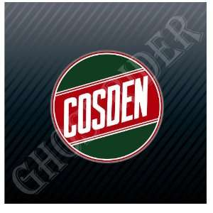 Cosden Oil Gas Gasoline Fuel Pump Station Vintage Sticker