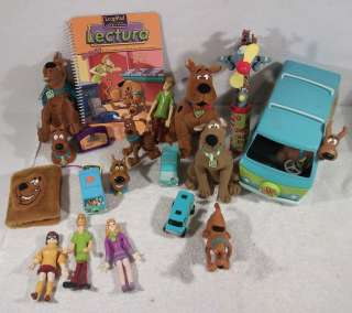 of Hanna Barbera Scooby Doo shaggy velma scrappy fred toys figures C