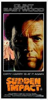 Sudden Impact   13 x 30 Movie Poster   Australian Style B