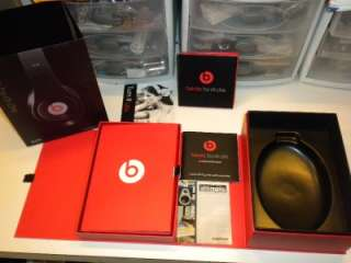 BOX & PAPERWORK ONLY      DR DRE MONSTER BEATS STUDIO HEADPHONES