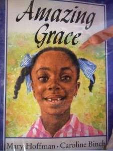 THE AMAZING GRACE DOLL AND BOOK SET AFRICAN AMERICAN 11 CLOTH DOLL