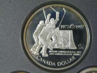 1997 Canada Canadian Proof Sterling Silver Coin Set D202