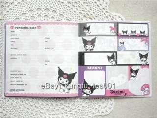 2012 Sanrio Kuromi Devil Schedule Monthly Planner Diary