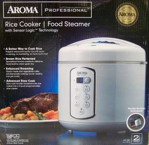 AROMA Professional Rice Cooker Food Steamer ARC 2000
