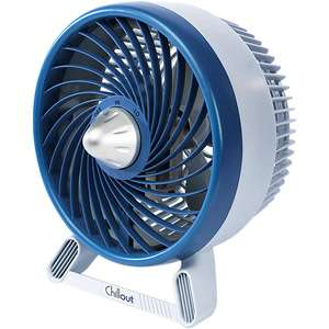 Chillout 8 Personal Fan, Blue Heating, Cooling, & Air Quality