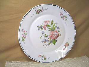 Arcopal China Provincial Pattern Dinner Plate