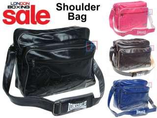 LONSDALE London Shoulder Bag Uni College School 4 Colours ★ FREE