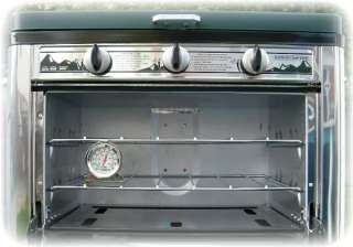 Camp Chef Outdoor Portable Camp Oven & Cooktop with 2 Burners   New in